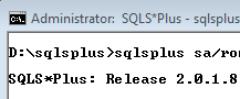 Memfix SQLS*Plus